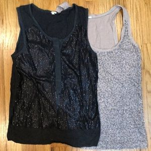 Two Jcrew sequin tank tops for price of one